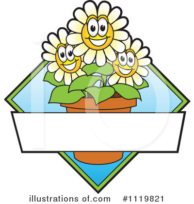 Daisies Clipart #1119821 by Toons4Biz