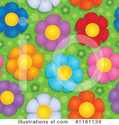Royalty-Free (RF) Daisy Clipart Illustration by visekart - Stock Sample #1161134