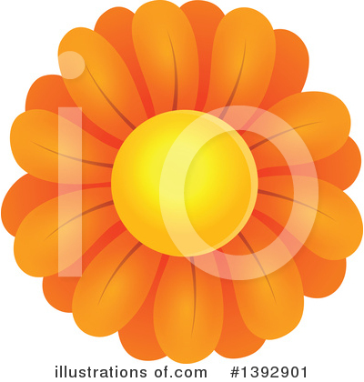 Daisy Clipart #1392901 by visekart