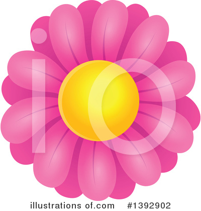 Daisy Clipart #1392902 by visekart