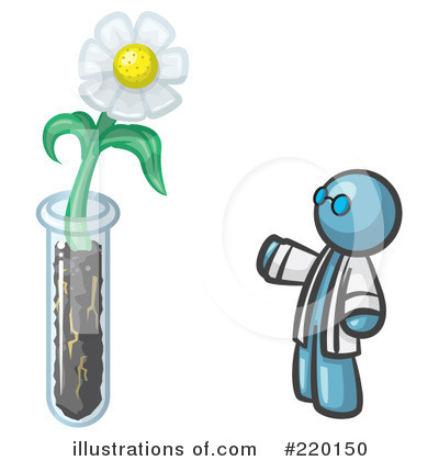 Daisy Clipart #220150 by Leo Blanchette