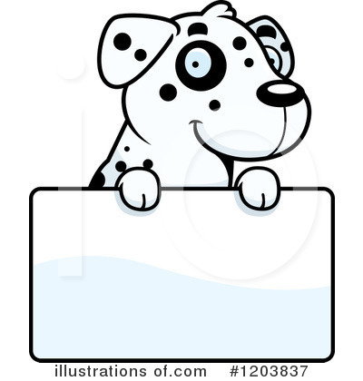 Dog Clipart #1203837 by Cory Thoman