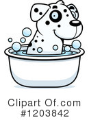 Dalmatian Clipart #1203842 by Cory Thoman