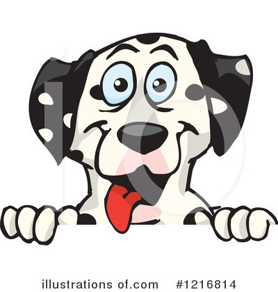 Dog Clipart #1216814 by Dennis Holmes Designs