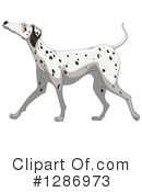 Dalmatian Clipart #1286973 by Graphics RF