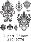 Damask Clipart #1049776 by BestVector
