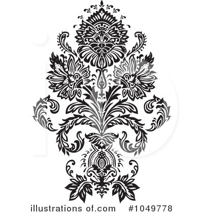 Damask Clipart #1049778 by BestVector