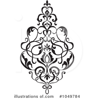 Damask Clipart #1049784 by BestVector