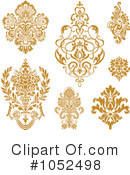 Damask Clipart #1052498 by BestVector