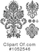 Damask Clipart #1052546 by BestVector
