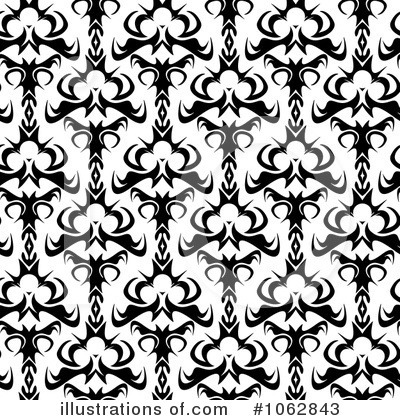 Damask Clipart #1062843 by Arena Creative