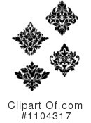 Damask Clipart #1104317 by Vector Tradition SM