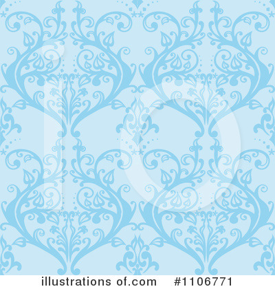 Royalty-Free (RF) Damask Clipart Illustration by Amanda Kate - Stock Sample #1106771