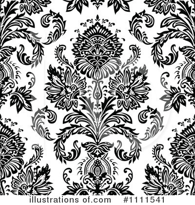 Royalty-Free (RF) Damask Clipart Illustration by BestVector - Stock Sample #1111541