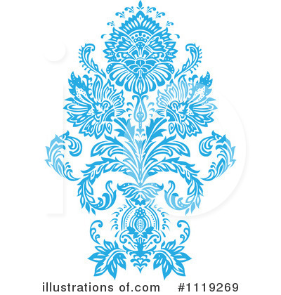 Damask Clipart #1119269 by BestVector