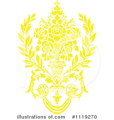 Damask Clipart #1119270 by BestVector