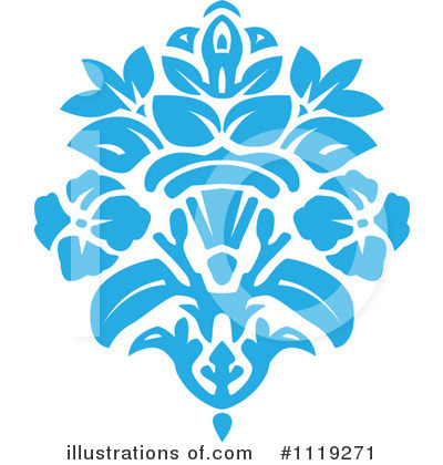 Damask Clipart #1119271 by BestVector