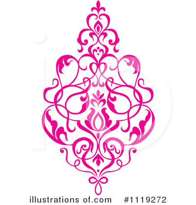 Damask Clipart #1119272 by BestVector