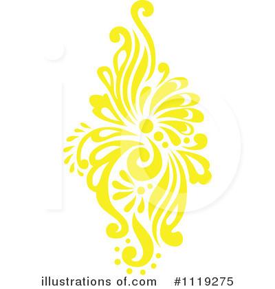 Damask Clipart #1119275 by BestVector