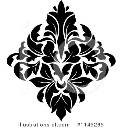 Damask Clipart #1145265 by Vector Tradition SM