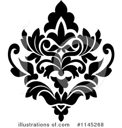 Royalty-Free (RF) Damask Clipart Illustration by Vector Tradition SM - Stock Sample #1145268