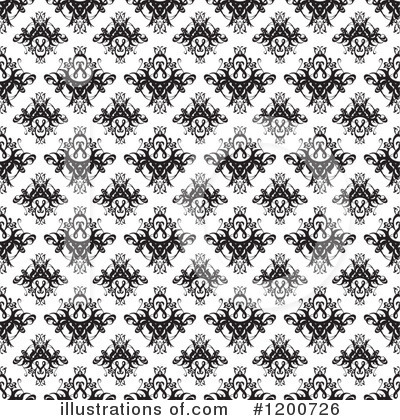 Royalty-Free (RF) Damask Clipart Illustration by Arena Creative - Stock Sample #1200726