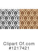Damask Clipart #1217421 by Vector Tradition SM