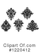 Damask Clipart #1220412 by Vector Tradition SM