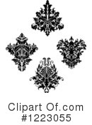 Damask Clipart #1223055 by Vector Tradition SM