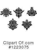 Damask Clipart #1223075 by Vector Tradition SM