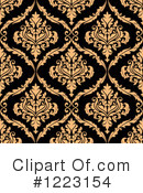 Damask Clipart #1223154 by Vector Tradition SM