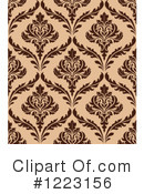 Damask Clipart #1223156 by Vector Tradition SM