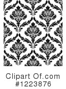 Damask Clipart #1223876 by Vector Tradition SM