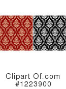 Damask Clipart #1223900 by Vector Tradition SM