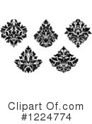 Damask Clipart #1224774 by Vector Tradition SM