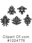 Damask Clipart #1224776 by Vector Tradition SM