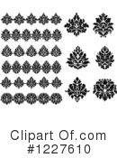 Damask Clipart #1227610 by Vector Tradition SM