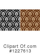 Damask Clipart #1227613 by Vector Tradition SM