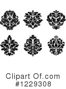 Damask Clipart #1229308 by Vector Tradition SM