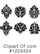 Damask Clipart #1229324 by Vector Tradition SM