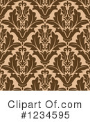 Damask Clipart #1234595 by Vector Tradition SM