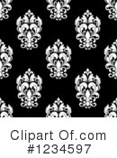 Damask Clipart #1234597 by Vector Tradition SM
