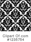 Damask Clipart #1235754 by Vector Tradition SM