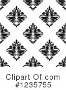 Damask Clipart #1235755 by Vector Tradition SM