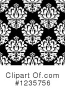 Damask Clipart #1235756 by Vector Tradition SM