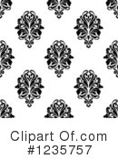 Damask Clipart #1235757 by Vector Tradition SM