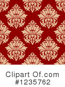 Damask Clipart #1235762 by Vector Tradition SM