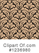 Damask Clipart #1236980 by Vector Tradition SM