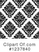 Damask Clipart #1237840 by Vector Tradition SM