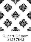 Damask Clipart #1237843 by Vector Tradition SM